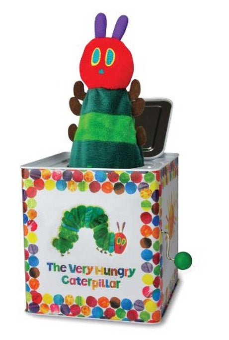 Kids Preferred Eric Carle CATERPILLAR JACK IN THE BOX