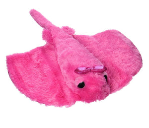 """Aurora World 14"""" Plush GIRLZ NATION, PINK STING RAY"""