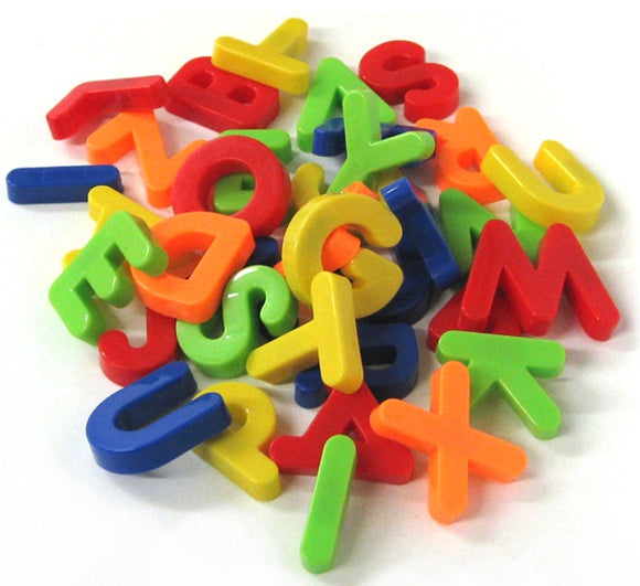 Megcos Magnetic Learn to Spell Alphabet Capital Letters