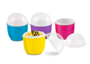 Zap Chef Crackin' Eggs Single Egg Cooker SET 4 Colors May Vary