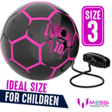 Messi Pro Training Ball Size 3 Girls (Purple)