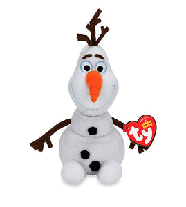 Ty Disney Frozen Beanie Buddies OLAF the SNOWMAN LARGE 17""