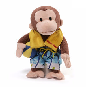 Gund Curious George 12 inch Swim Trunks