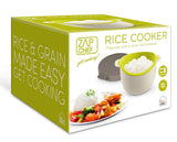 Zap Chef Microwave Rice Cooker & Vegetable Steamer