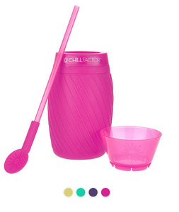Chill Factor Ice Twist Color Blast Slushy Makers - Pink