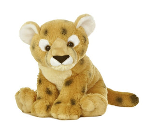 """Aurora World Destination Nation 10"""" Plush CHEETAH"""