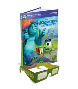 LeapReader 3D Book: Disney Pixar Monsters University