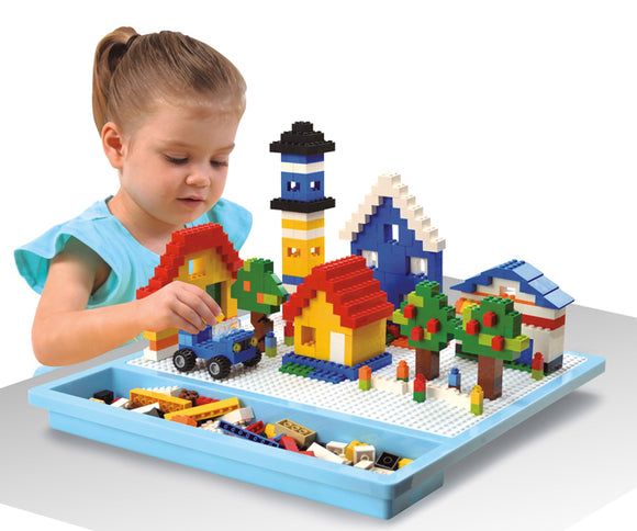 TRAVEL BRICK PLATFORM & STORAGE (Bricks Not Included) 2705
