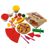 PLAY DOUGH PIZZA SET (3 Colors of Play Dough Included)
