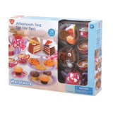 METAL WARE  -  AFTERNOON TEA SET FOR TWO by Playgo