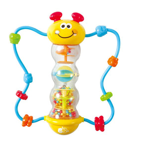 CATERPILLAR RATTLE WITH BEADS