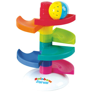 RAINBOW STAIRWAY SPIRAL WITH CHIME BALL