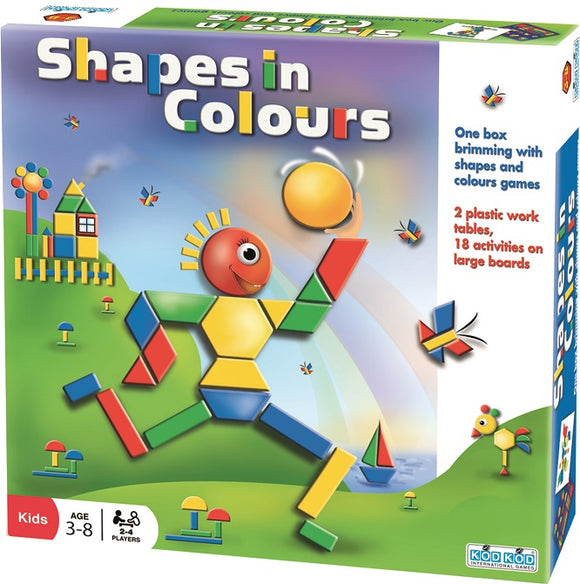 SHAPES IN COLOURS Multi Level Game