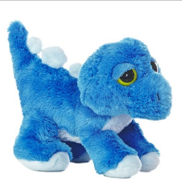 Aurora World Dreamy Eyes Stan Dinosaur Blue 10 Plush