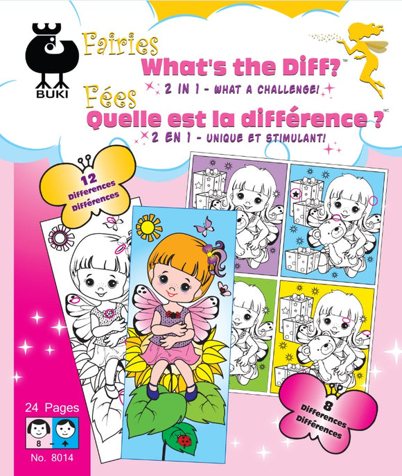 Buki Large Activity Book WHAT'S THE DIFF?