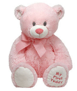 TY Classic Plush Pluffie - SWEET BABY the Bear (Pink - 15 inch)