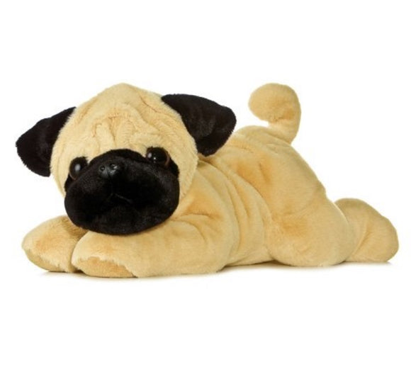 Aurora World Plush 12 Flopsie Pugger