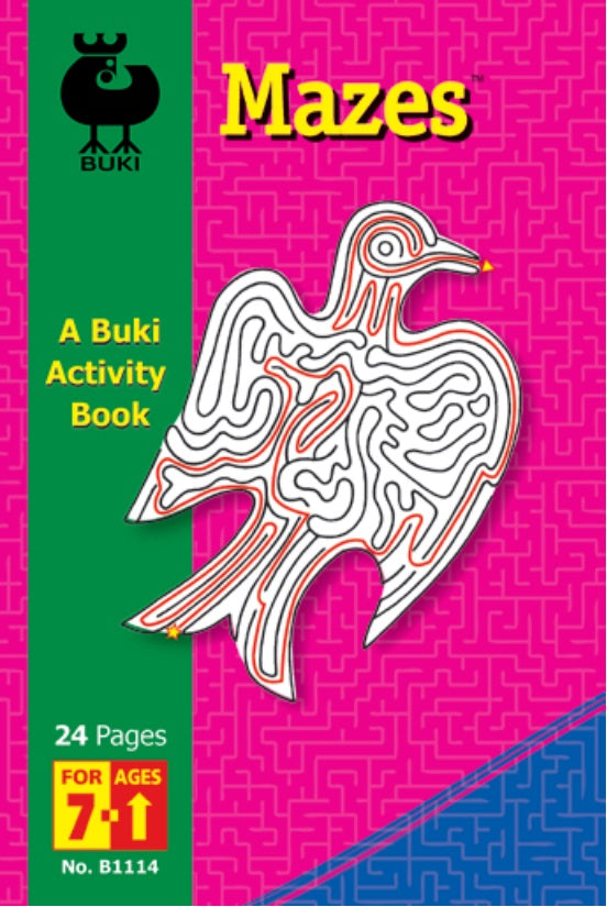 Buki Activity Book Mazes