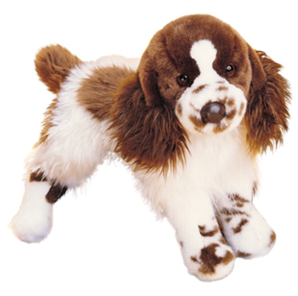 Douglas Cuddle Toys  OGILVY the SPRINGER SPANIEL DOG
