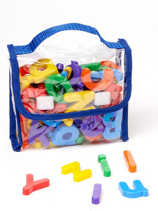 EduKid Toys MAGNETIC LETTERS & NUMBERS 72 Poly Bag EK4118
