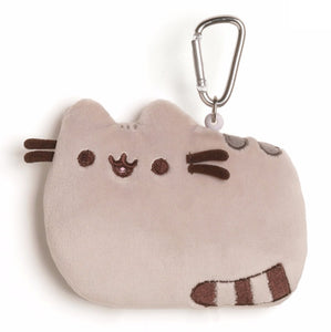 "Gund 5"" PUSHEEN ID CASE, GRAY"