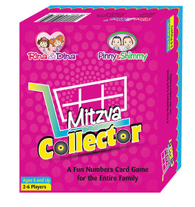 Rina & Dina MITZVAH COLLECTOR Numbers Card Family Game