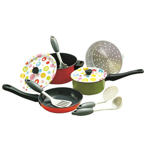 Playgo Metal Cookware Coloured Tin