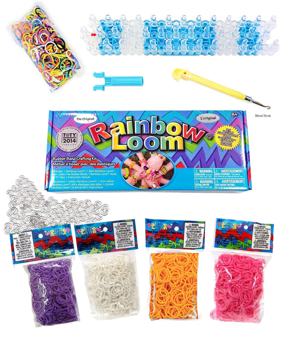 The Original Rainbow Loom® Value Pack 3000 Rubber Bands (4 extra bags)