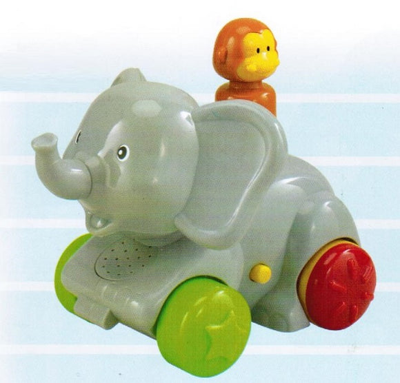 Megcos Press 'N Go Animal : Elephant
