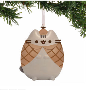 Gund Pusheen Detective Ornament 2.5""