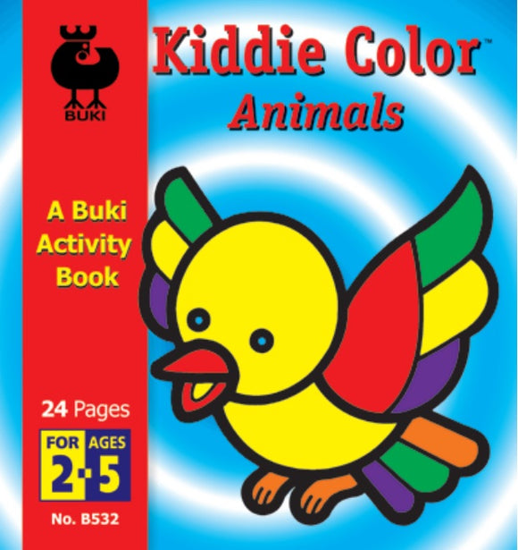 Buki Activity Book Kiddie Color Animals