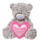 Douglas Cuddle Toys TATTY TEDDY Love Bear With Heart Valentines