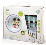 """Kids Preferred Disney Baby Melamine Set, Mickey Mouse"""