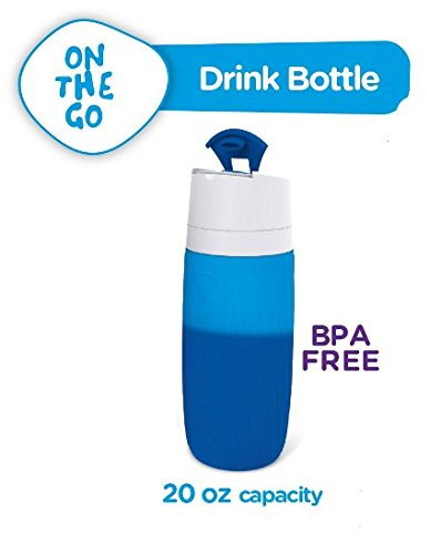 Chill Factor  Color Change Rapid Chill Drink Bottle, 20 oz - Blue