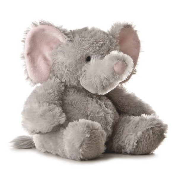 Aurora World Plush 12 inches Elephant Tubbie Wubbie (Light Grey)