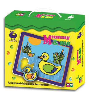 Mommy & Me Matching Game for Toddlers by Buki