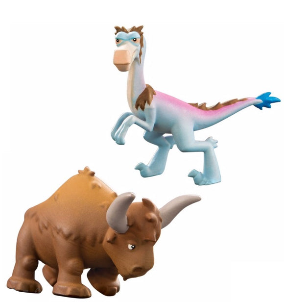Disney The Good Dinosaur Mini Figure 2-Pack Bisodon and Bubbha