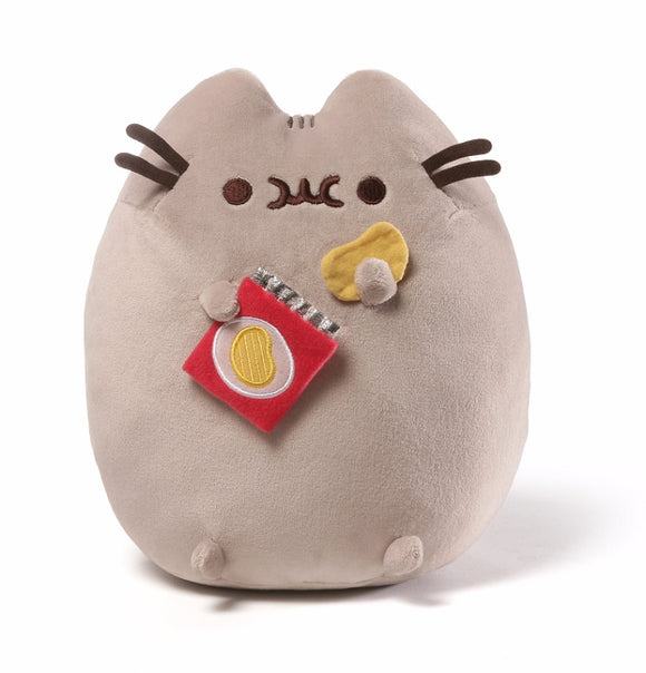 Gund Pusheen Potato Chip Snackable Stuffed Toy Plush