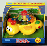 Megcos Toys Pull Along Musical Butterfly ~BRAND NEW~