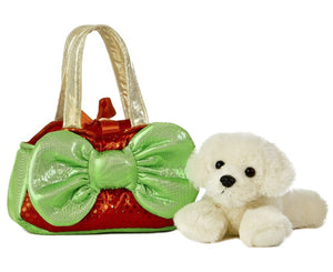 """Aurora World Light-Up Gift Carrier, Red"""