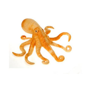 "Fiesta Toys 14"" Plush Octopus Orange"
