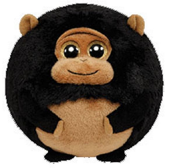 TY Beanie Ballz - TANK the Gorilla (LARGE - 8 inch)