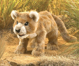 Folkmanis Puppets  African Lion Cub Hand Puppet Plush
