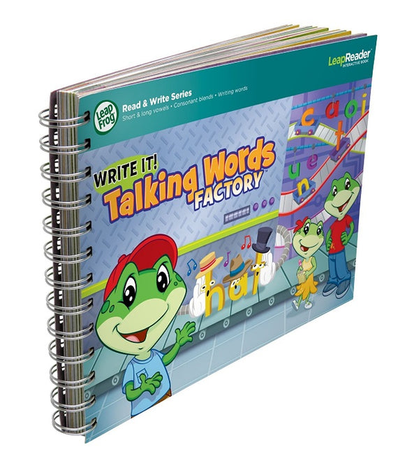 LeapFrog LeapReader Writing Workbook: Write it! Talking Words Factory