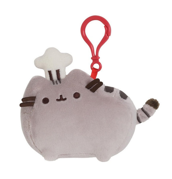 Gund Pusheen Backpack Clip - Chef Hat
