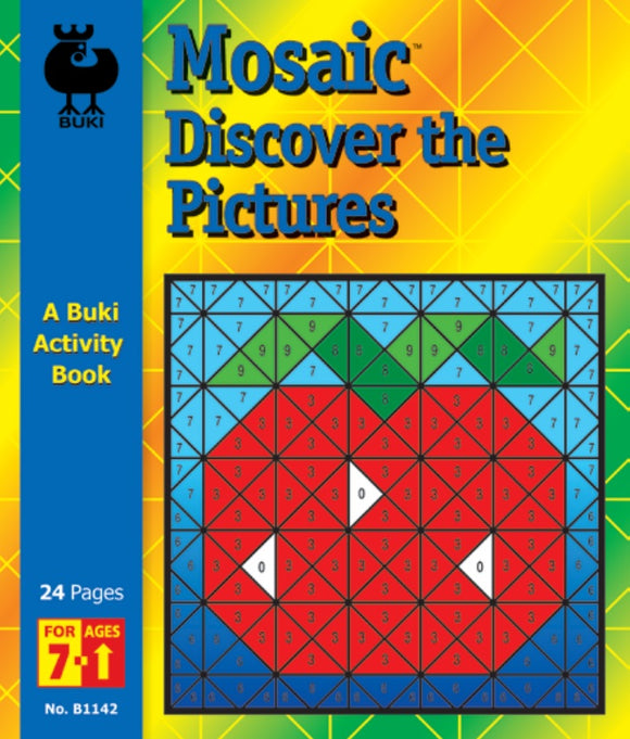 Buki Activity Book Mosaic Discover the Pictures
