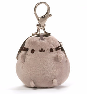 Gund Pusheen Mini Coin Purse Plush, Gray