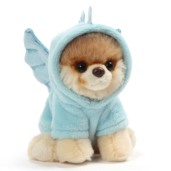 "Gund World's Cutest Dog Itty Bitty Boo #45 Dragon Plush, 5"" Toy, Blue"