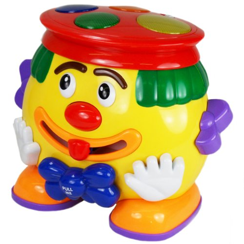 Megcos Toys Musical Multi Activity Clown  ~BRAND NEW~
