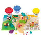 PLAY DOUGH FARMER & FRIENDS (3 Colors of Play Dough Included)